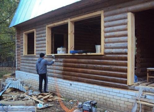 Защита древесины от гниения и влаги своими